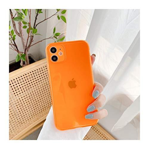 YLFC Custodia per Telefono Giapponese Color Arcobaleno Dolce per iPhone 12 11 PRO Max XR XS Max 7 8 Plus X 12 Mini Custodia 7Plus Custodia Carina (Color : 03, Size : for iPhone 7 Plus)