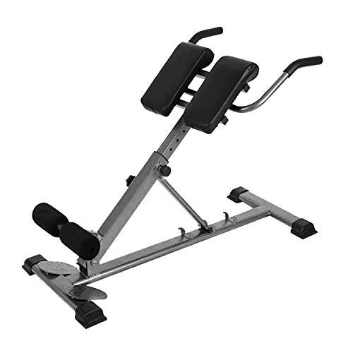 KirinSport 4 en 1 silla romana Hyper Fitness Ab Core Trainer, banco de peso plegable, equipo de entrenamiento de fuerza abdominal ajustable, máquina de prensa de pierna de Hyperextension