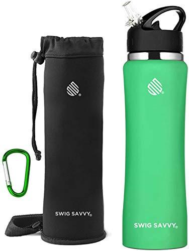 SWIG SAVVY Stainless Steel Water Bottle