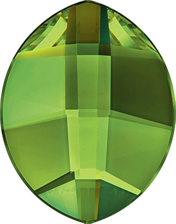 Swarovski Crystals 1187762 Flat Backs No Hotfix 2204 MM 6,0X 4,8 PERIDOT F, 360 Pieces