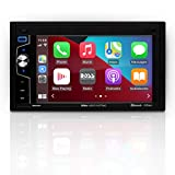 BOSS Audio Systems Elite Series BE62CP Apple CarPlay Car Multimedia Player - Double Din, Bluetooth Audio and Calling, 6.2 Inch LCD Touchscreen, USB, SD, Aux in, AM/FM Radio, No CD DVD Player