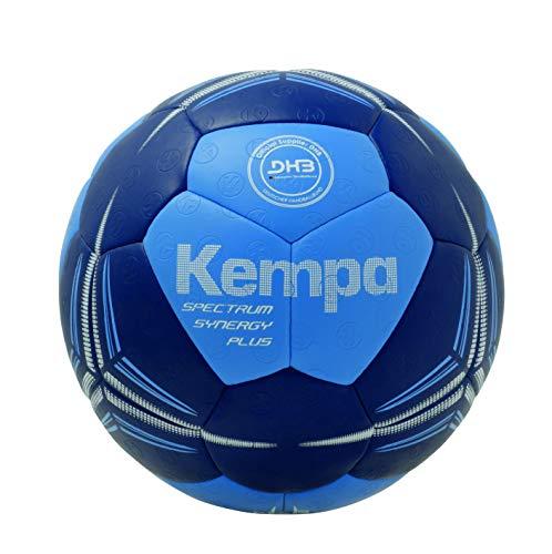 Kempa Spectrum Synergy Plus Ball Handball, Energy blau/deep blau, 0