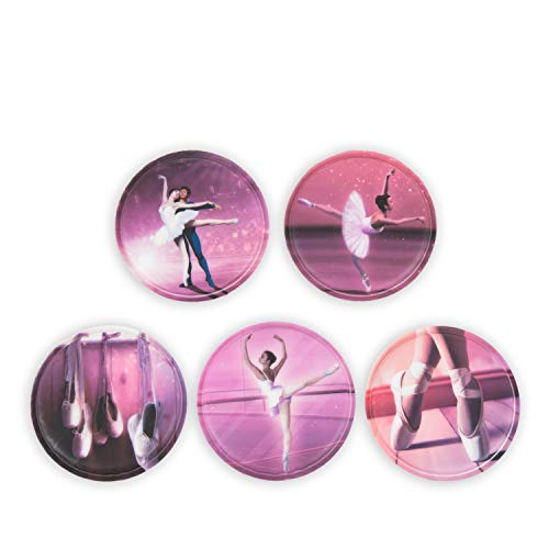 ergobag Klettie - Set, 5-Teilig, Klett, Ballerina