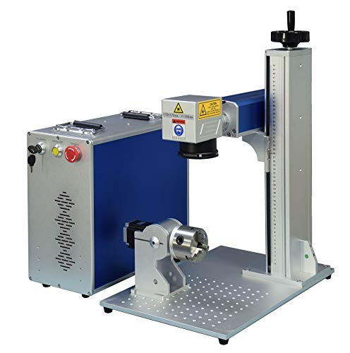 Fiber Laser Marking Machine 60W Laser Engarver MOPA JPT M7 Fiber Laser Engraving Machine 175×175mm+80mm Rotary Axis