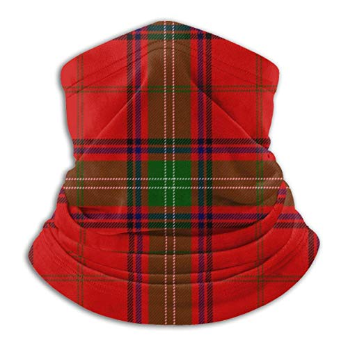 XCVD Scottish Tartan Plaid Unisex Microfiber Neck Warmer