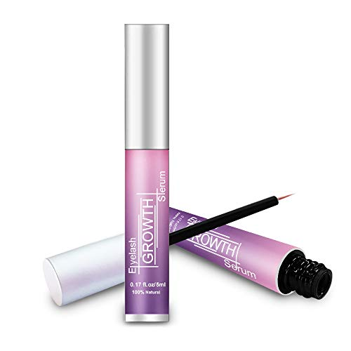 Vanecl Best Organic Lash Serum,Eyelash Growth Serum& Brow Serum,For Long, Thick Looking Natural Lashes and Eyebrows 5ML