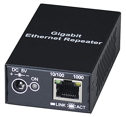 MS Ethernet Data LAN Signal Repeater Over CAT5 Cable up to 100 Meters / 300 ft
