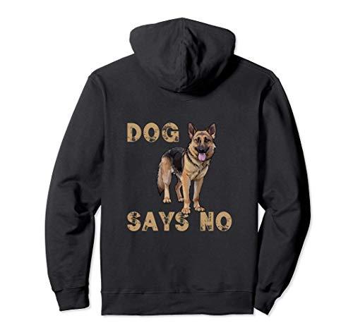 I Love Big Dogs German Shepherd, King Shepherd, Alsatian Pullover Hoodie