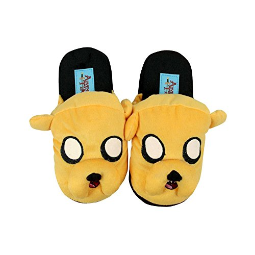 Official Adventure Time Jake Kids Slippers (5-6 UK)