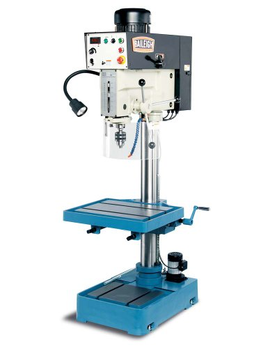 Best Review Of Baileigh DP-1250VS 20 Heavy Duty Baileigh Drill Press, 1-Phase 220V, 2hp Motor, 1.5...