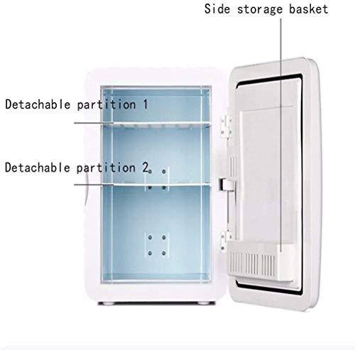 Liberty Auto-koelkast, 22 liter, mini-koeling, beweegbare kop, dubbele verwarmings- en koelbox, 12 V/220 V, voor studentenhuis, vrieskast