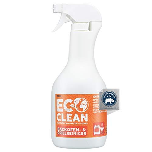 Eco Clean® Backofenreiniger Active Foam 1L - hochwirksamer Grillreiniger - Aktiv-Haftschaum- professioneller Grillrost Reiniger für hartnäckigste Verschmutzungen - Made in Germany