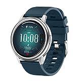 LJMG S27 Smart Bluetooth Guarda per Android Tocco da Uomo Android Sport Fitness Tracker Blood Pressure Associazione Impermeabile E Smart Orologio Smartwatch per Le Donne Smartwatch,C