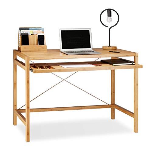 Relaxdays -   Computertisch Holz,