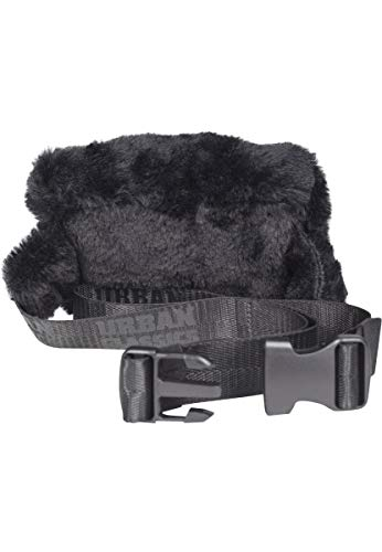 Urban Classics Teddy Mini Beltbag Umhängetasche 15 cm, Black
