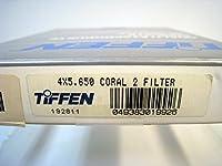Tiffen 4x5.65 コーラル 2 単色 フィルター