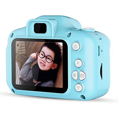 XINJIA Cámara Digital para niños, Mini cámaras de Video Digital para niños de 2.0 Pulgadas Cámara fotográfica 1080P HD Cámara de acción Digital