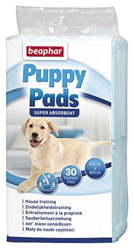 Beaphar BEA17133 Puppy Pads Empapadores Absorbentes, 60 x 60 cm, 30 Piezas, Puede Variar 🔥