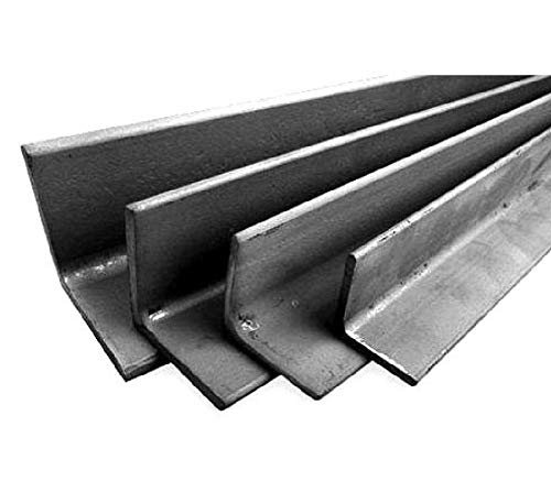 barra angolare in ferro varie sezioni e lughezze (latoxlatoxspessorexlunghezza(40x40x5x3000 mm))
