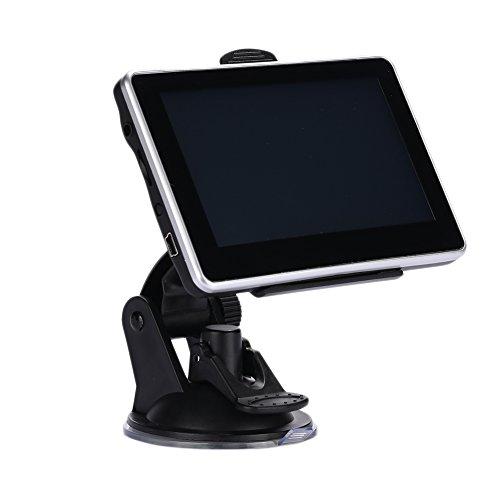 TOPmountain - Navigateur GPS pour Voiture Navigator Premium Moteur Haute Performance MP4 Haut-Parleur Wince 6.0
