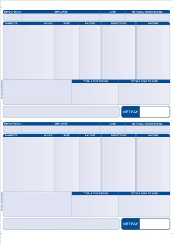 Aangepaste formulieren SE96 Sage A4 Compatibel Adres Betaal Advies Slip