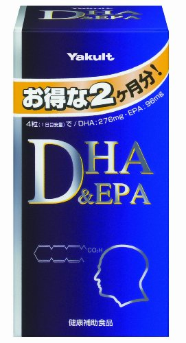 ヤクルトヘルスフーズ ヤクルト DHA&EPA 240粒