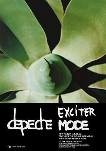 Depeche Mode Exciter Mode Póster Foto Global Spirit Tour Dave Gahan 007 (A5-A4-A3) - A4