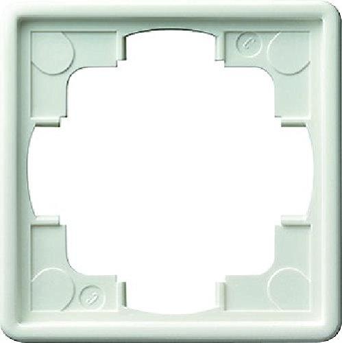 Gira 21140 Rahmen 021140 1fach S-Color reinweiss, Weiß