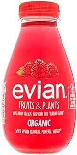 Evian Fruits & Plants Raspberry & Verbena - 370ml (13.02 fl oz)