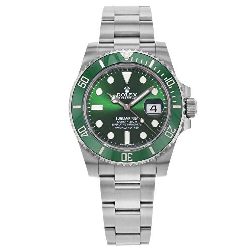 "Rolex Submariner ""Hulk"" Green Dial Men"