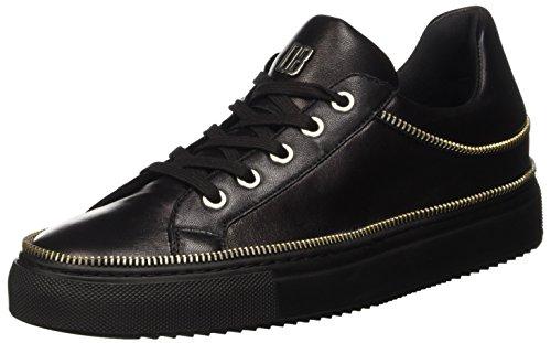 Bikkembergs Damen Doll-Er Db 798 Low Shoe W Leather Pumps, Schwarz (Nero), 38 EU