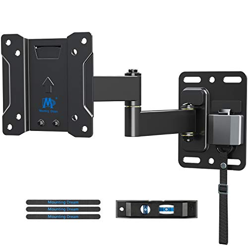 Mounting Dream Soporte de Pared TV Giratorio Inclinable Bloqueable para Caravana/Remolque/Barco para la Muchos los 10-26 Pulgadas LED, LCD y OLED TVs hasta 10kg, MAX. VESA 100x100mm
