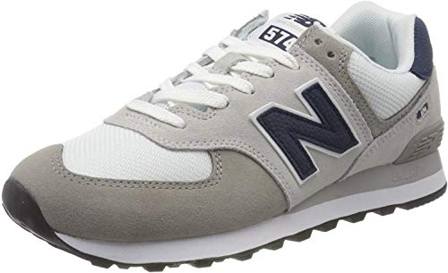 New Balance 574v2, Baskets Homme, Gris (Grey/White Eag), 43 EU