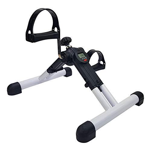 Tunturi Mini Bike mit Computer, klappbarer Pedaltrainer für Arme und Beine, Fahrrad für Tisch