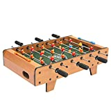 JHSHENGSHI Mini Football Table,Portable Lightweight Foosball Game Table for Kids, Easy To Assemble & Store Free Standing Football Table(Football Games)