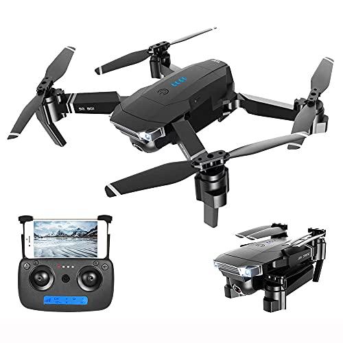 4k Drone HD Dual Fotocamera UAV WiFi Trasmissione FPV Flv Flusso Ottico Altezza Stabile Quadcopter Rc Elicottero Droni per Elicotteri Dron Dron