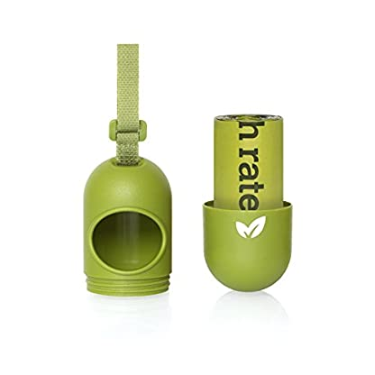 Earth Rated Leash Dispenser for Dog Waste Bags, Includes 30 Unscented Poop Bags 3