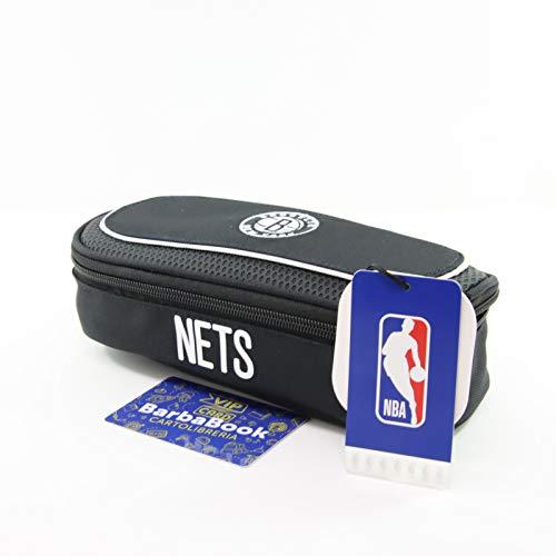 Estuche ovalado NBA Brooklyn New Your Nets + Vip Card Barbabook