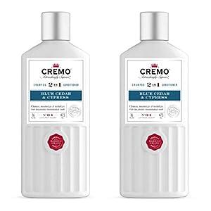 Cremo Barber Grade Blue Cedar & 2-in-1 Shampoo & Conditioner, 16 Oz (2-Pack) 6