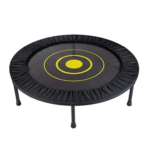 MBZL Trampoline for Adults, Indoor Small Rebounder Exercise Trampoline for Workout Fitness for Quiet and Safely Cushioned Bounce, [40 Inch]