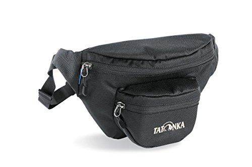Tatonka Hüfttasche Funny Bag, black, 32 x 16 x 6 cm, 1 Liter/S