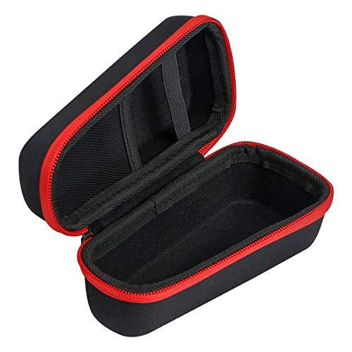 para Philips Series 3000/AT899/PT860/16 S5420/06 5000 S5110/06 Afeitadora eléctrica Duro Viaje Estuche Bolso Funda por Khanka (For series 3000/ AT899, Red zipper)