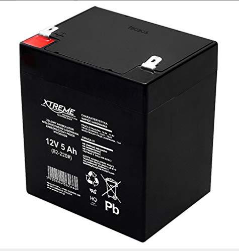 Xtreme - Batería de movilidad 12V 5Ah AGM de gel