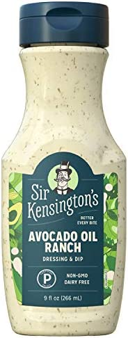 Sir Kensington s Ranch Dressing and Dip Avocado Oil Ranch Keto Certified Paleo Certified Dairy product image