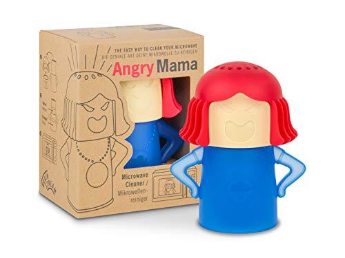Brainstream Mikrowellenreiniger Angry Mama I Farbe blau/rot