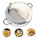 Enerdock Large Empanada Maker Press, Stainless Steel Pastry, Ravioli, Pie Mold (5.5 inch Dia)