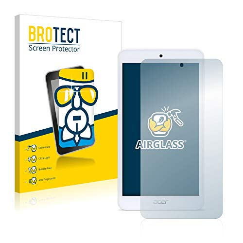 BROTECT Panzerglas Schutzfolie kompatibel mit Acer Iconia One 7 B1-780 - AirGlass, 9H Festigkeit, Anti-Fingerprint, HD-Clear