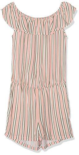 Garcia Kids Mädchen C92489 Latzhose, Mehrfarbig (Light Coral 3102), (Herstellergröße: 176)