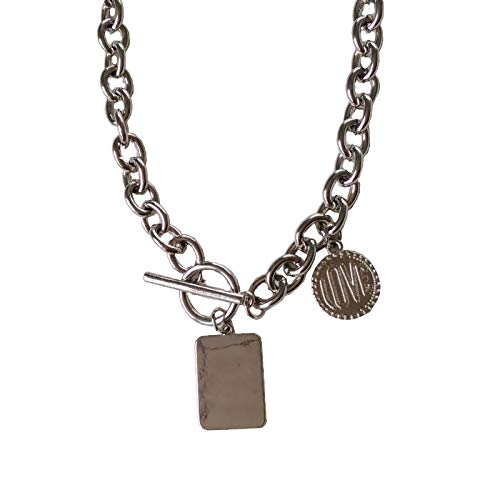 shlutesoy Ladies Pendant Necklace,Women Choker,Hip-Hop Necklace Adjustable Easy to Carry Necklace Jewelry Accessory Rust-Free Necklace Brithday Party 1
