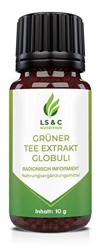 Grüner Tee Extrakt Globuli | Grüntee Extrakt | 10g